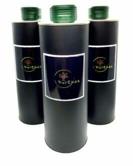 6 x PurEllas extra virgin ultra premium Olivenöl 500ml (3L)