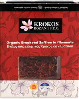 Organic Safran Krokos Kozanis P.D.O. 1g